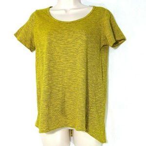 LulaRoe Classic T Shirt Top Women Size XS Yellow